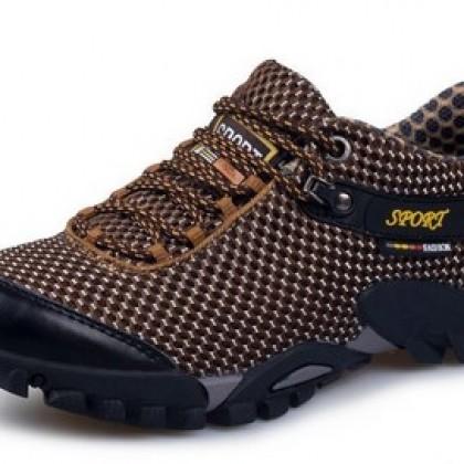 Outdoor Hiking Waterproof Sneakers Breathable.