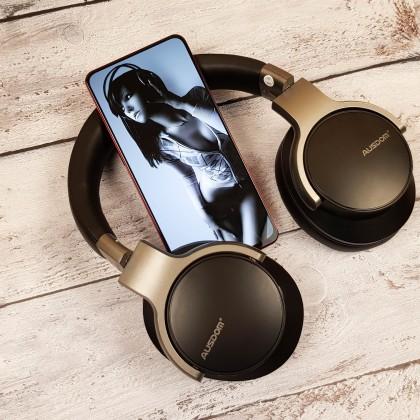 Ausdom ANC8: полноразмерные беспроводные наушники с активным шумоподавлением. Удобные, музыкальные,