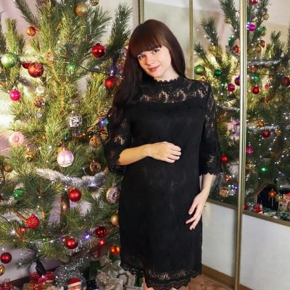 Элегантное кружевное платье TAOYIZHUAI