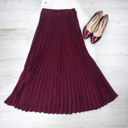 Шикарная плиссерованная юбка