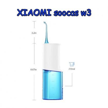 Ирригатор для полости рта Xiaomi Soocas w3. Подарок за конкурс.