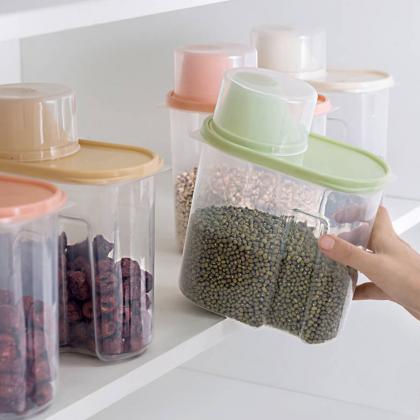 Как хранить сыпучие продукты? Подборка лучших банок для круп и специй с Алиэкспресс
