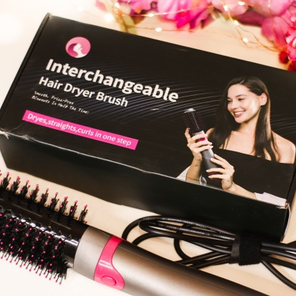 Фен - щётка для волос от LISA PRO