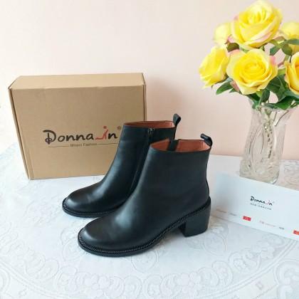 Удобные и тёплые классические ботинки от Donna-in.
