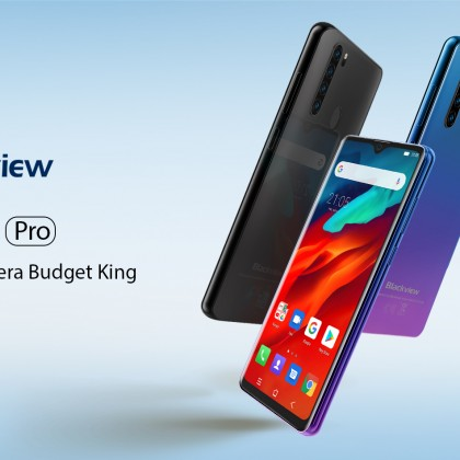 Крутой бюджетник, с aliexpress, Blackview A80 Pro Quad Rear Camera