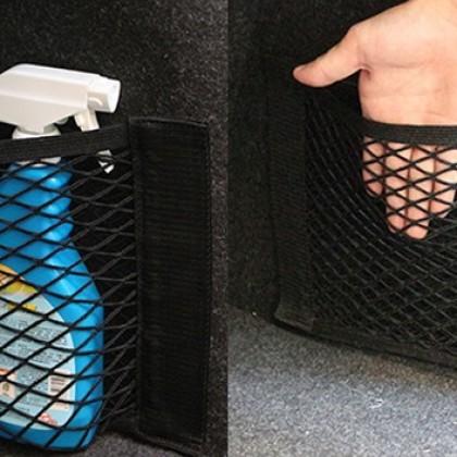 Автомобильный органайзер для хранения, сетка в багажник.