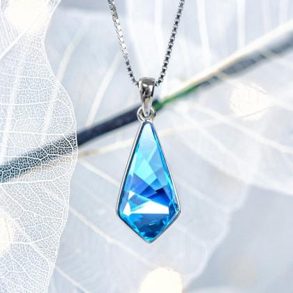 Кулон с австрийским кристаллом с AliExpress