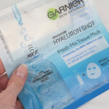 Тканевая маска Garnier с гиалуроновой кислотой