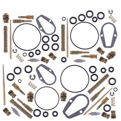 Set Carburetor Rebuild Carb Repair Kit Jets Gasket fit for Honda CB500K.