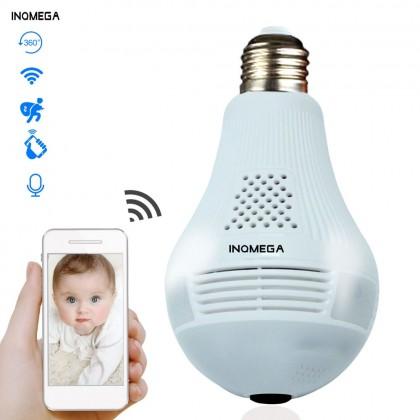 Светодиодная Wi-Fi лампа-камера
