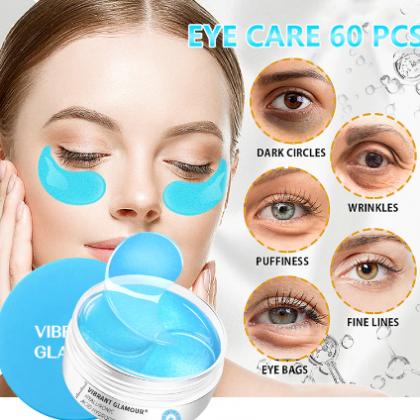 Патчи для глаз с гиалуроновой кислотой VIBRANT Glamur