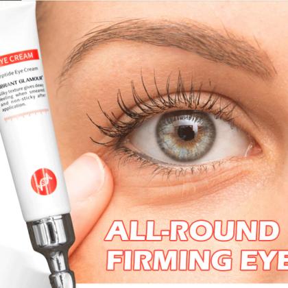 Крем-сыворотка для кожи вокруг глаз c пептидами и коллагеном  Vibrant Glamour.