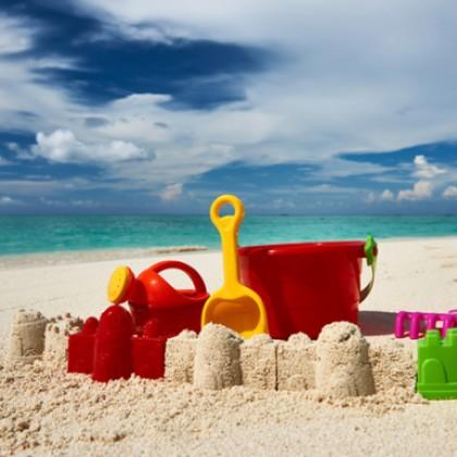Что взять с собой на море, когда отдыхаешь с маленькими детьми