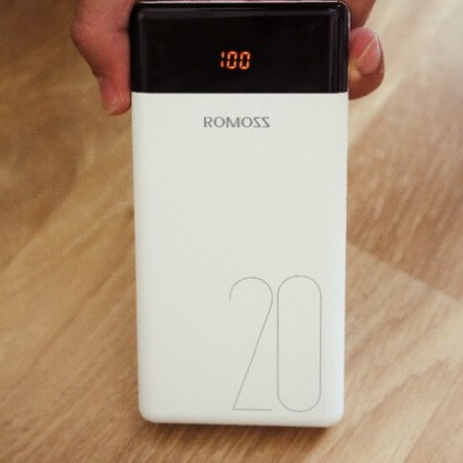 Power Bank ROMOSS на 20000mAh