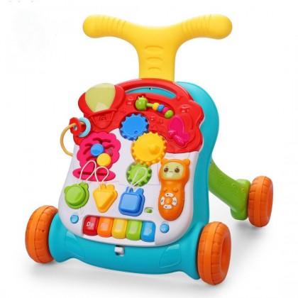 Каталка-ходунки Happy Baby c развивающим центром  Доставка из России