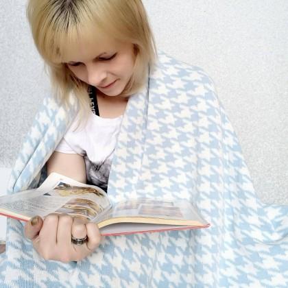Обзор на хлопковое одеяло с интересным принтом