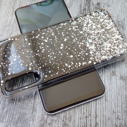Блестящий чехол со звездочками для Samsung Galaxy A30S