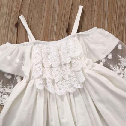 Платье принцессы для маленьких девочек.