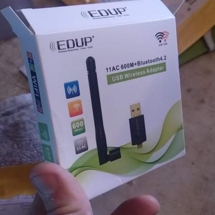 EDUP 600M Лучший модем 2в1 в котором есть быстрый bluetooth и Wi-Fi c aliexpress