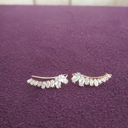 Как украсить ушки бриллиантами?