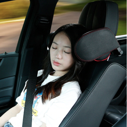 Car headrest pillow Sleep Adjustable Side Car Soft Travel Seat Headrest.
