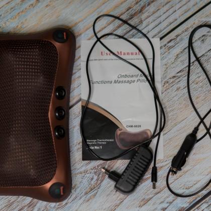 Электрический шиацу-массажер для шеи, спины, поясницы и всего тела