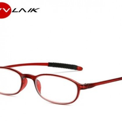 Reading Glasses Men Women Ultralight Toughness Anti Fatigue TR90 Frame.