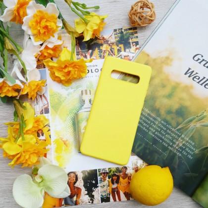 Силиконовый чехол на Samsung цвета солнца