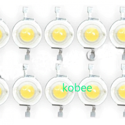 100Pcs/lot Real CREE 1W 3W High Power LED Lamp Beads 2.2V-3.6V SMD Chip LED.