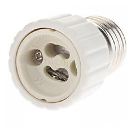 Adapter E27 To GU10 Bulb Light Socket.