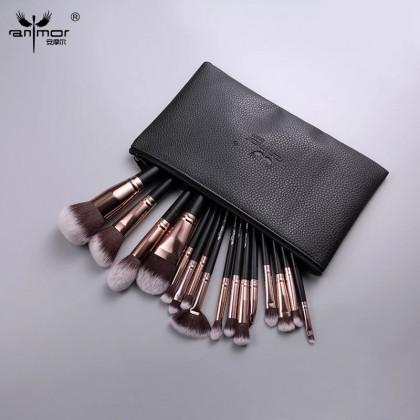 Кисти для макияжа Anmor  Набор из 16 штук
