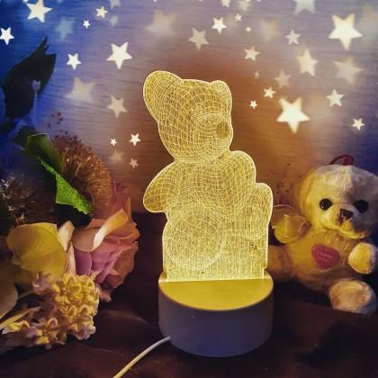 Красивый 3D ночник в детскую комнату
