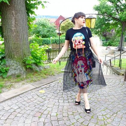 Стильная юбка.