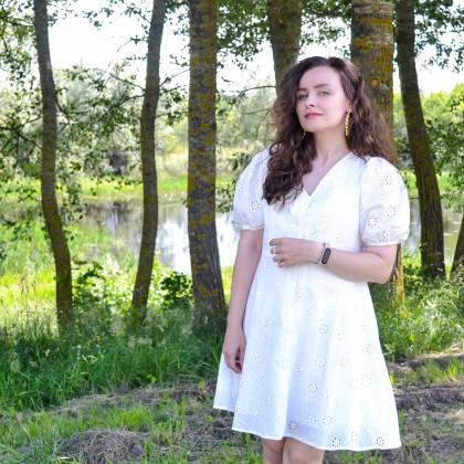 Платье с шитьем Cocostly