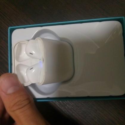 I7s TWS Bluetooth наушники беспроводные  спортивные наушники с микрофоном с зарядным устройством