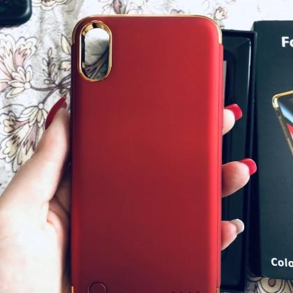 Тонкий внешний аккумулятор на iPhone