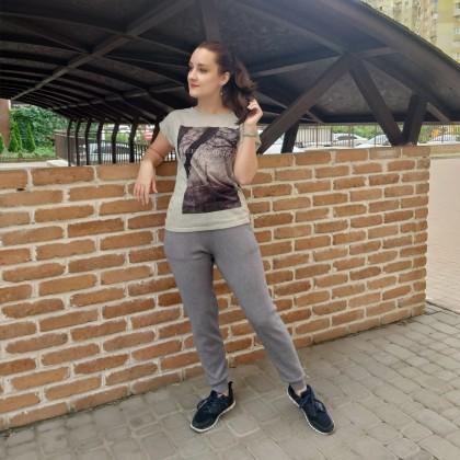 Трикотажные брюки от GIGOGOU