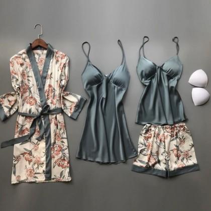 Шелковая пижамка