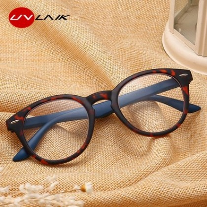 UVLAIK Toughness PC reading glasses Women Men ultralight Resin Material.