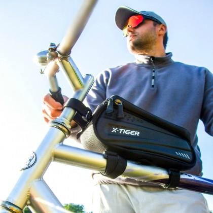 Велосумка с Али X-TIGER с окошком для смартфона