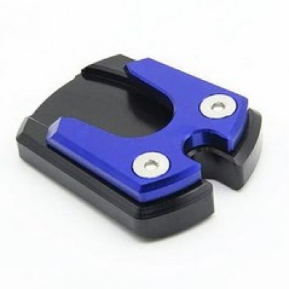 Universal Motorcycle Side Stand Pad Plate Kickstand Enlarger Support Extension.