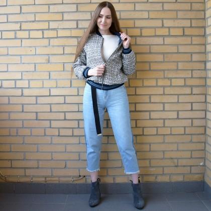 Куртка бомбер с Алиэкспресс