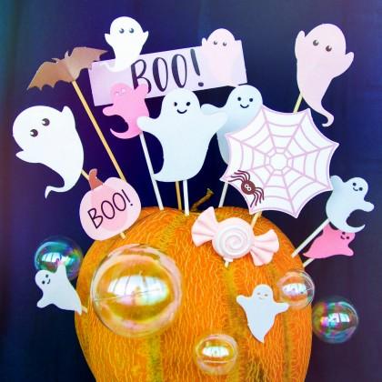 Украшения для торта на Хэллоуин