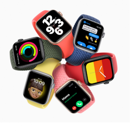 Мои первые Apple watch или Apple watch SE из М Видео.