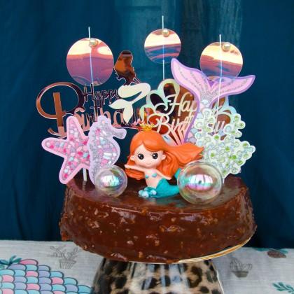 Торт для маленькой русалочки