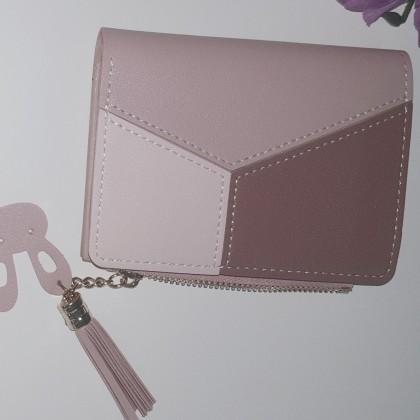 Маленький кошелек на молнии в стиле пэчворк бренда GEONYIEEK
