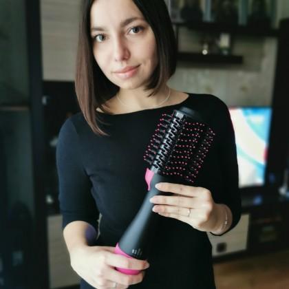 Идеальная укладка с выпрямителем для волос