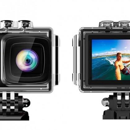 LeadEdge LE7000 Экшн-камера 4K 30FPS 20MP EIS внешний микрофон WiFi Водонепроницаемая камера