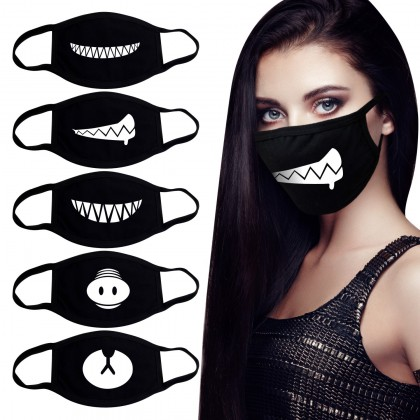 Защитные маски с принтом, большой выбор
