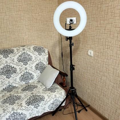 Крутая кольцевая лампа. Нюансы выбора, пошаговая сборка, обзор, преимущества в сравнении